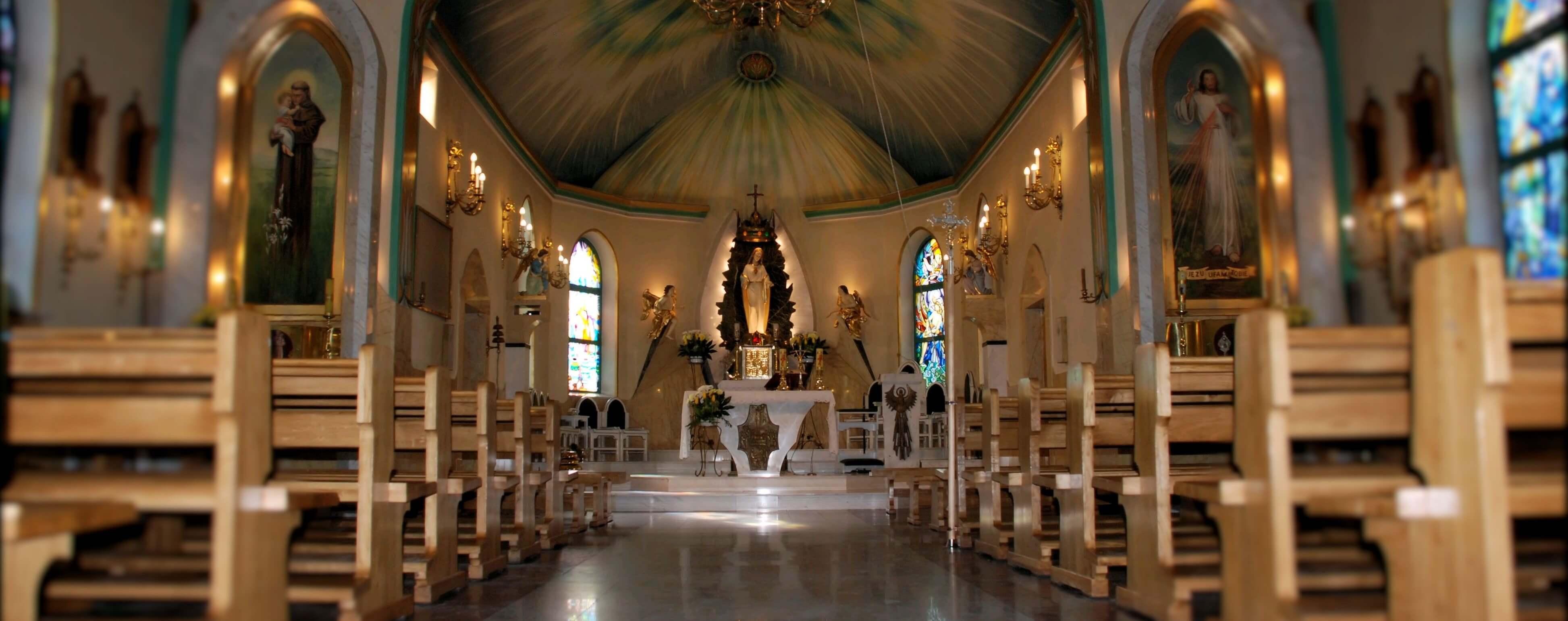 Parafia Krzyzowa-Banner